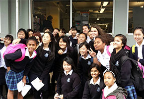 Study in Taranaki - Students from Srinagarindra The Princess Mother School