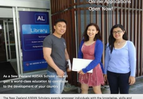 New Zealand ASEAN Scholars Awards for Thai students (2016 selection round)